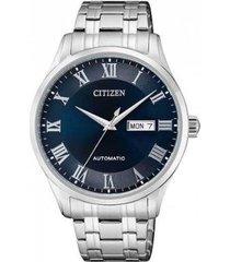 relógio citizen automático nh8360-80l masculino