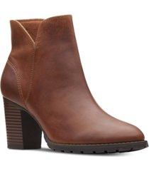 clarks collection women's verona trish booties women's shoes