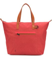 ally capellino saarf travel & cycle tote - red