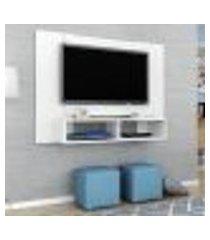 painel navi para tv até 47 pol móveis bechara 2 nichos branco