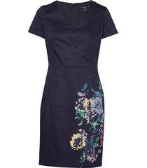 dresses woven korte jurk blauw esprit collection