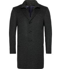 cashmere coat - sultan tech yllerock rock svart sand