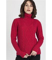 sweter estelle swe 121 malinowy