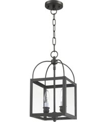 livex milford 2-light convertible mini pendant/ceiling mount