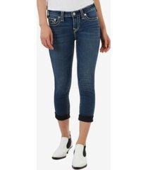 true religion women's halle big t crop jeans