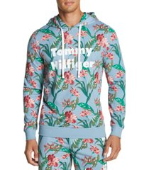tommy hilfiger men's modern essentials printed hoodie