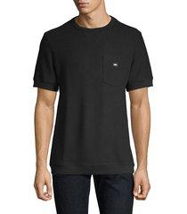 prps men's cotton pocket tee - black - size s