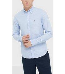 gant the oxford shirt slim bd skjortor blue