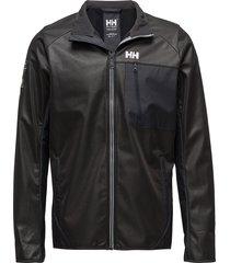 fjord windproof fleece outerwear sport jackets svart helly hansen