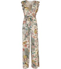 etro viscose jumpsuit