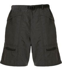 battenwear relaxed cargo shorts - grey