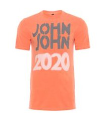 t-shirt masculina rg spray 2020 - laranja