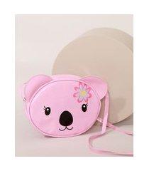 bolsa infantil coala pink