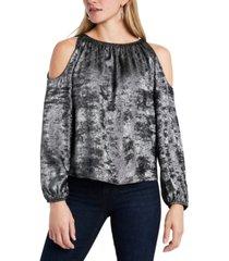 1.state cold-shoulder top