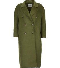 oversized jas dadoulove  groen