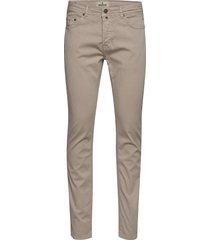 james textured 5-pkt slim jeans beige morris