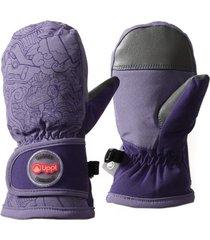 guantes mini snow day b-dry glove mitts violeta lippi