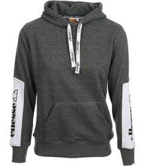 sweater ellesse eh f hoodie capuche bicolore