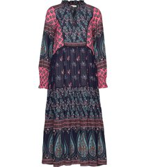 la vie boheme dress knälång klänning multi/mönstrad odd molly