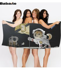 babaite-wow-dog-astronaut-animals-doge-cat-spaceman-bath-beach-towel-home-hotel-