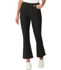 lucky brand ava straight leg cropped jeans