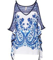 maglia fantasia (blu) - bodyflirt boutique