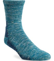 men's beams plus outdoor crew socks, size one size - blue