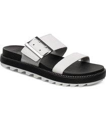 roaming™ buckle slide shoes summer shoes flat sandals vit sorel