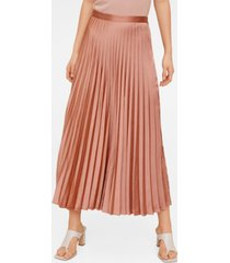 mango women's pleated midi skirt