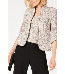 alex evenings petite jacket and top set