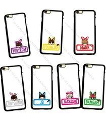 kpop got7 cartoon phone case jackson cute cellphone cover for iphone 6 mark jb