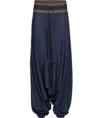 pantaloni alla turca (blu) - rainbow