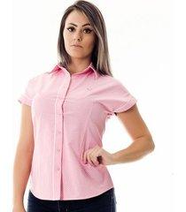 camisa pimenta rosada da poá ayla