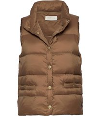 amy down vest vests padded vests bruin busnel