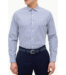 camisa formal rayas navy perry ellis