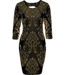 abito con paillettes (nero) - bodyflirt boutique