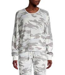 fleece criss-cross sweater