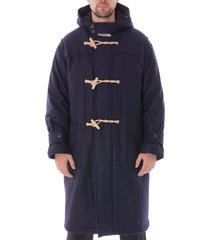 gloverall portsmouth padded duffle coat - navy 5236pal