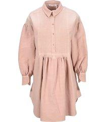 see by chloe pintuck shirt dress
