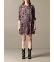 zadig & voltaire dress zadig & voltaire patterned dress