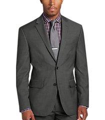 awearness kenneth cole slim fit suit separates coat gray herringbone