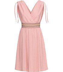 abito drappeggiato (rosa) - bodyflirt boutique