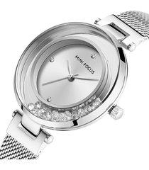 reloj mini focus mf0254l-1 para mujer-plata