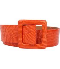 ralph lauren orange belt