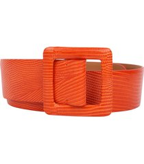 ralph lauren orange belt
