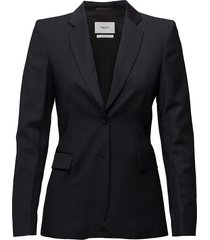 eve cool wool jacket blazer colbert zwart filippa k