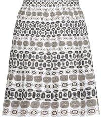 d.exterior geometric pattern skirt