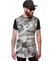 camiseta di nuevo longline swag masculina - masculino