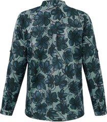 blouse van anna aura groen