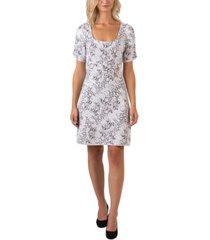 belldini black label sequin snake print puff sleeve dress